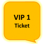 Bitcoin Expo Vienna 2015 VIP Ticket 1